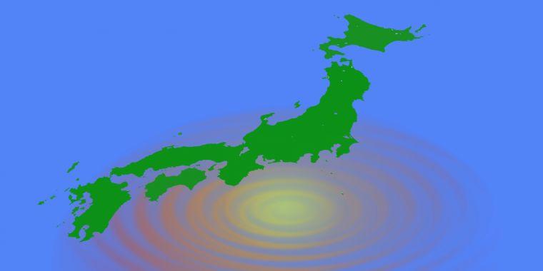 南海トラフ地震のイメージ