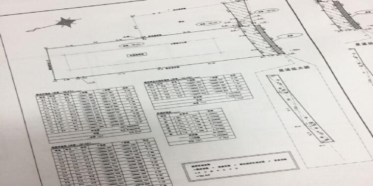 設計図面のイメージ